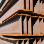 建築とH形鋼